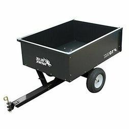 Blue Hawk 10-cu ft Steel Dump Lawn Wagon Garden Cart - 400lb