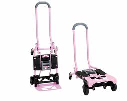 2-4 Wheel Convertible Hand Truck Dolly Cart Folding Wagon Up