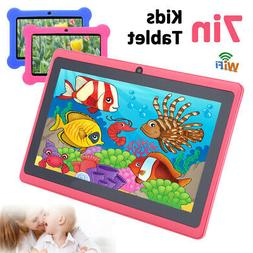 "7"" HD WiFi Android Tablet PC 1+8G Quad Core Kid Children Dua"