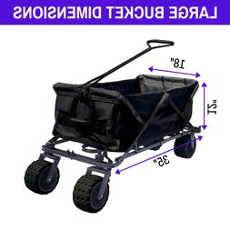 All Terrain Beach Wagon Foldable Collapsible Beach Utility G