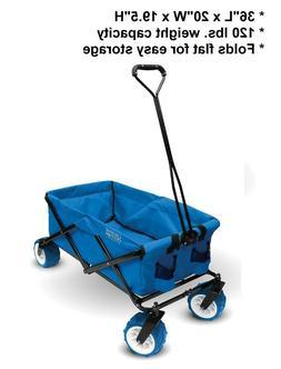 All-Terrain Folding Wagon - Creative Outdoor, 120 lbs. weigh