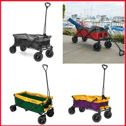 Creative Outdoor All-Terrain Folding Wagon, Fits in most tru