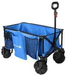 Folding Wagon Cart Collapsible Utility Beach Camp Outdoor Bu