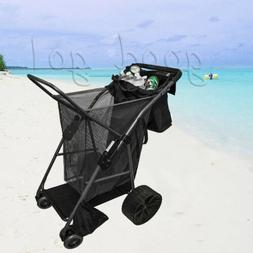 all terrain wagon quad folding utility buggy