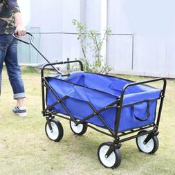 Beach Wagon Storage Cart Kid Folding Utility Camping Trolley