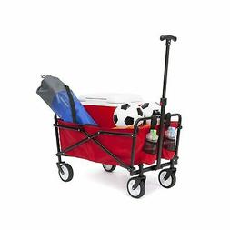 Brand New YSC Wagon Garden Folding Utility Shopping Cart,Bea