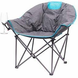 Creative Outdoor Distributor Bucket Wine Chair Moon Chair, B