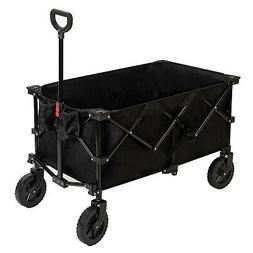 Pacific Pass Camping Folding Wagon Large Collapsible Cart fo