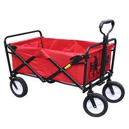 Camping Shopping <font><b>Cart</b></font> Portable Steel Fra