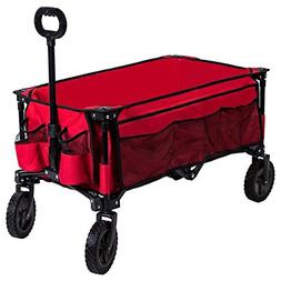 Timber Ridge Camping Wagon Folding Garden Cart Collapsible H