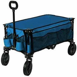 Camping Wagon Folding Garden Cart Shopping Trolley Collapsib
