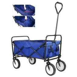 Camping Wagon Folding Garden shopping Cart Collapsible Groce