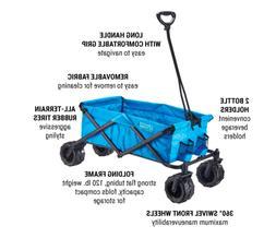 Cart Folding Wagon All Terrain Utility Heavy Duty Outdoor De