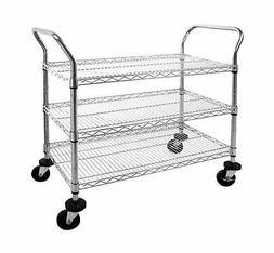 Chrome Moble Cart MWS362438C METMWS362438C