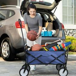 Collapsible Durable Folding Wagon Outdoor Garden Utility Wag