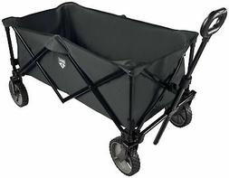 Collapsible Fold Utility Wagon Quad Compact Outdoor Garden C