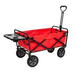 Mac Sports Collapsible Folding Outdoor Garden Utility Wagon