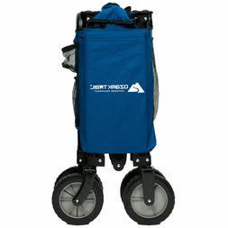 Collapsible Folding Outdoor Wagon Cart Garden Beach Trolley