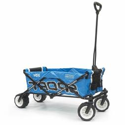 Creative Outdoor Collapsible Folding Sport Wagon Blue