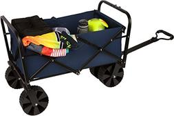 "31"" Collapsible Folding All Terrain Beach Cart Wagon with Co"