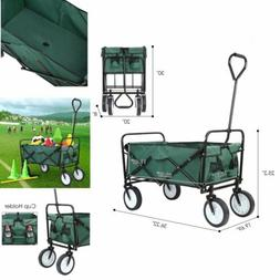 Collapsible Folding Utility Wagon Compact Outdoor kids Beach