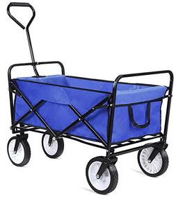 femor Collapsible Folding Outdoor Utility Wagon, Heavy Duty
