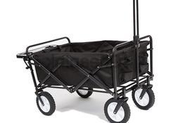 Mac Sports Collapsible Folding Outdoor Utility Wagon Wagon w