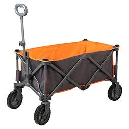 PORTAL Collapsible Folding Utility Wagon Quad Compact Outdoo