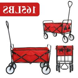 collapsible folding wagon cart beach camp trolley