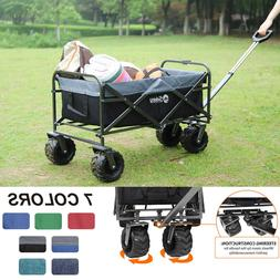 Collapsible Folding Wagon Cart Utility Garden Toy Buggy Camp