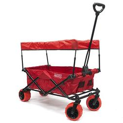 Creative Outdoor Collapsible Folding Wagon Cart for Kids and