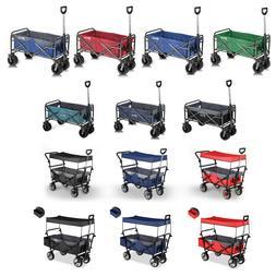 Collapsible Folding Wagon for Beach Garden Shopping Camping