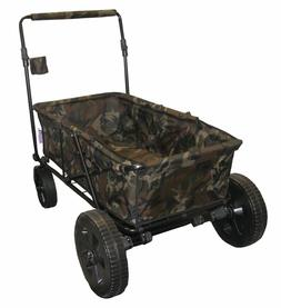 Impact Canopy Collapsible Folding Wagon Utility Garden Cart