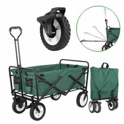 Collapsible Outdoor Utility Folding Wagon Heavy Duty Camp Sa