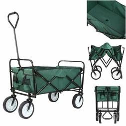 collapsible outdoor utility wagon cart heavy duty