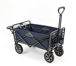 Mac Sports Collapsible Outdoor Utility Wagon with Folding Ta