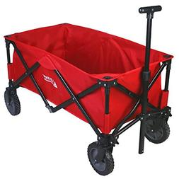 Leader Accessories Collapsible Sports Utility Wagon Outdoor