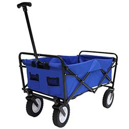 Victoria Young Collapsible Outdoor Utility Wagon Folding Car