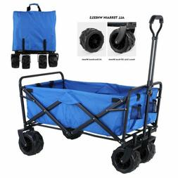 Collapsible Utility Wagon Heavy Duty Folding Hand Cart with