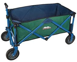 Leopard Outdoor Collapsible Utility Wagon,Portable Folding U