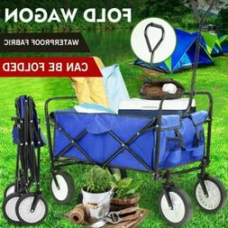 Collapsible Wagon Cart Camp Garden Tool Large Capacity Porta