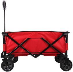Collapsible Wagon Folding Wagon Utility Wagon Cart Heavy Dut