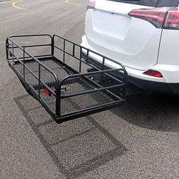 Compact Cargo Carrier Cargo Carrier Basket Hitch Mount Heavy