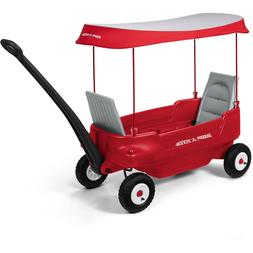 Deluxe Family Wagon w/ Canopy, Folding Seats Smooth Ride All