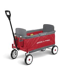 Radio Flyer Ez Fold Wagon Ride On, Red