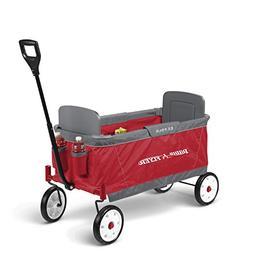 Radio Flyer Ez Fold Wagon Ride On, Red