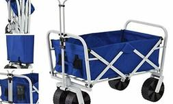 Muscle Carts FBW3621-BLUE FBW3621-Bluecollapsible Folding Ut