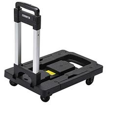 ENKEEO Foldable Hand Truck 300 lbs Capacity - Collapsible 36