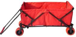 Impact Canopy Folding Collapsible Utility Wagon, Extra-Large