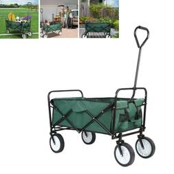 Folding Utility Beach Garden Wagon Outdoor Trolle Cart Capac